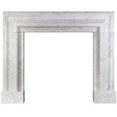 Ryan & Smith Carrara Marble Bolection Mantel