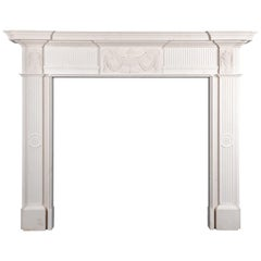 Ryan & Smith Georgian Style Limestone Fireplace