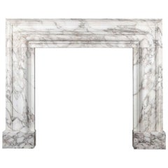 Ryan & Smith, Large Arabescato Marble Bolection
