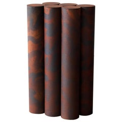 Ryota Akiyama BTF Console Table Contemporary Steel Work with Rust Patterns