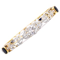 Ryrie Bros, Art Deco Diamond Bangle Bracelet