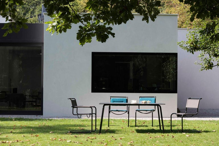 Contemporary S 34 Cantilever Armchair Designed by Mart Stam For Sale