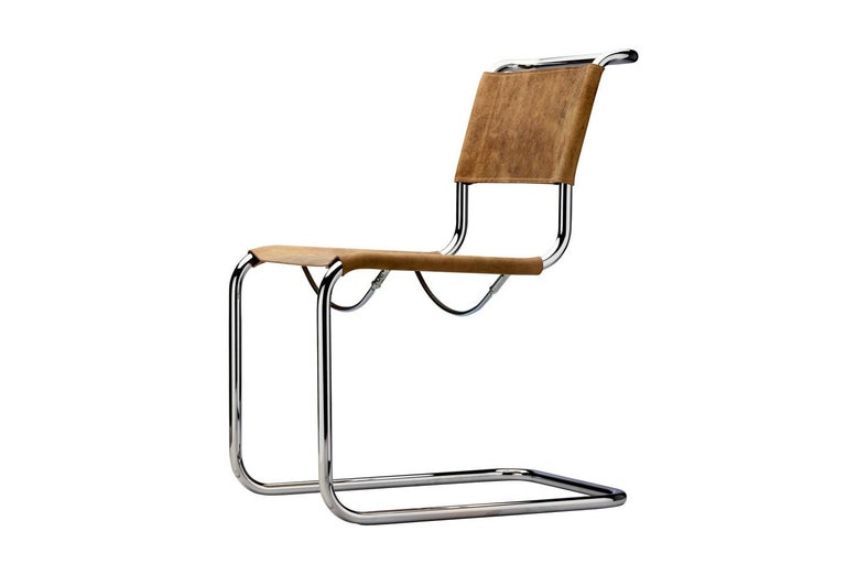 S 34 Cantilever Armchair Designed by Mart Stam For Sale 1