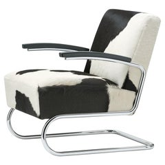 S 411 Cowhide Cantilever Lounge Chair