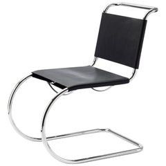 S 533 Cantilever Leather Chair Designed by Ludwig Mies van der Rohe