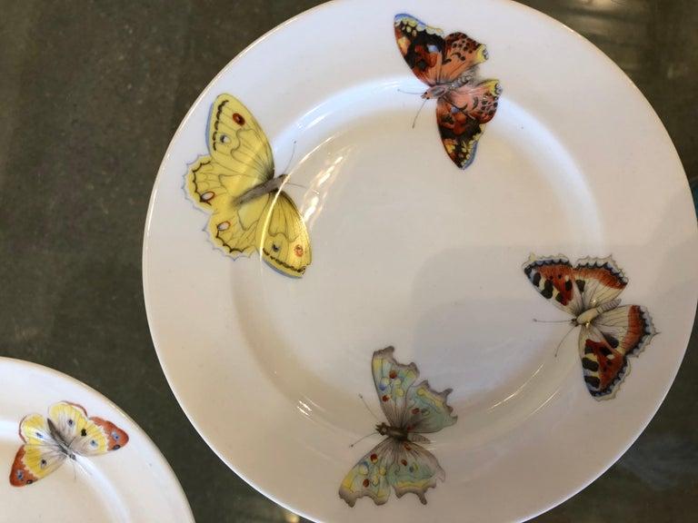 Offered is set of seven Mid-Century Modern L. Bernadaud porcelain