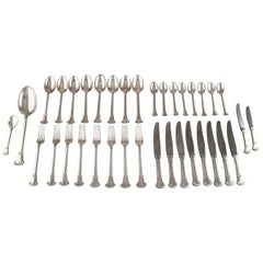 S. Chr. Fogh, 1912-1973. Complete Lunch Service for Eight People, 1930s-1960s