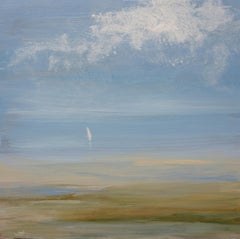 """""""Early Sail"""", Small Seascape Painting"""