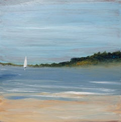 """""""Saturday Sail"""", Small Seascape Painting"""