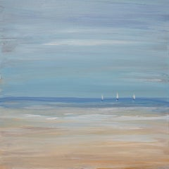 """Three Musketeers"", Small Seascape Painting"