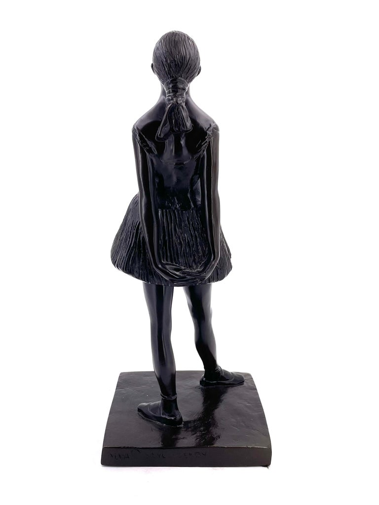 For the aspiring young ballerina or ballet instructor in your life. This sculpture entitled,