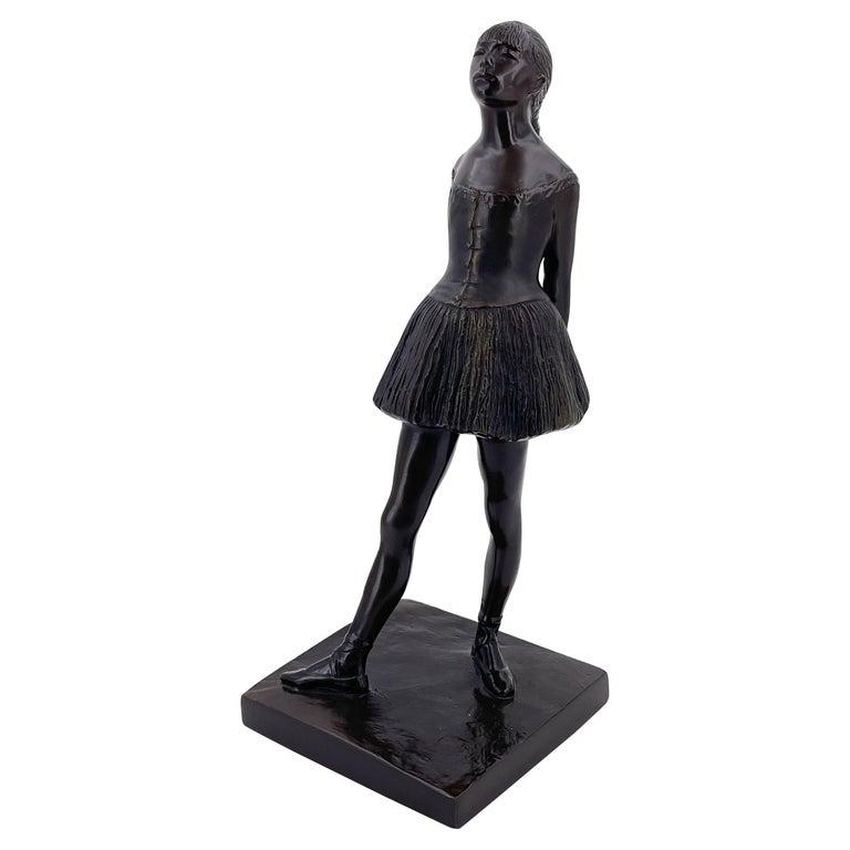 "S Eylanbekov ""The Petite Danseuse"" Alva Museum Ballerina Sculpture For Sale"