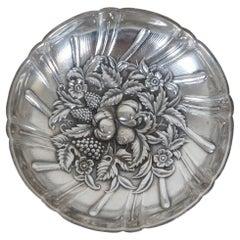 S. Kirk & Son 431 Sterling Silver Repousse Berry Bon Bon Dish Bowl Compote