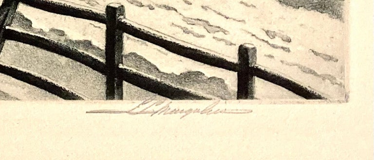 Silent Symphony - American Modern Print by S. L Margolies