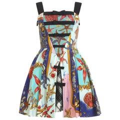 S/S 1992 Vintage Gianni Versace Tresor de la Mer Dress