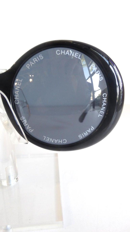 Women's or Men's S/S 1993 Chanel Paris Circle Sunglasses For Sale