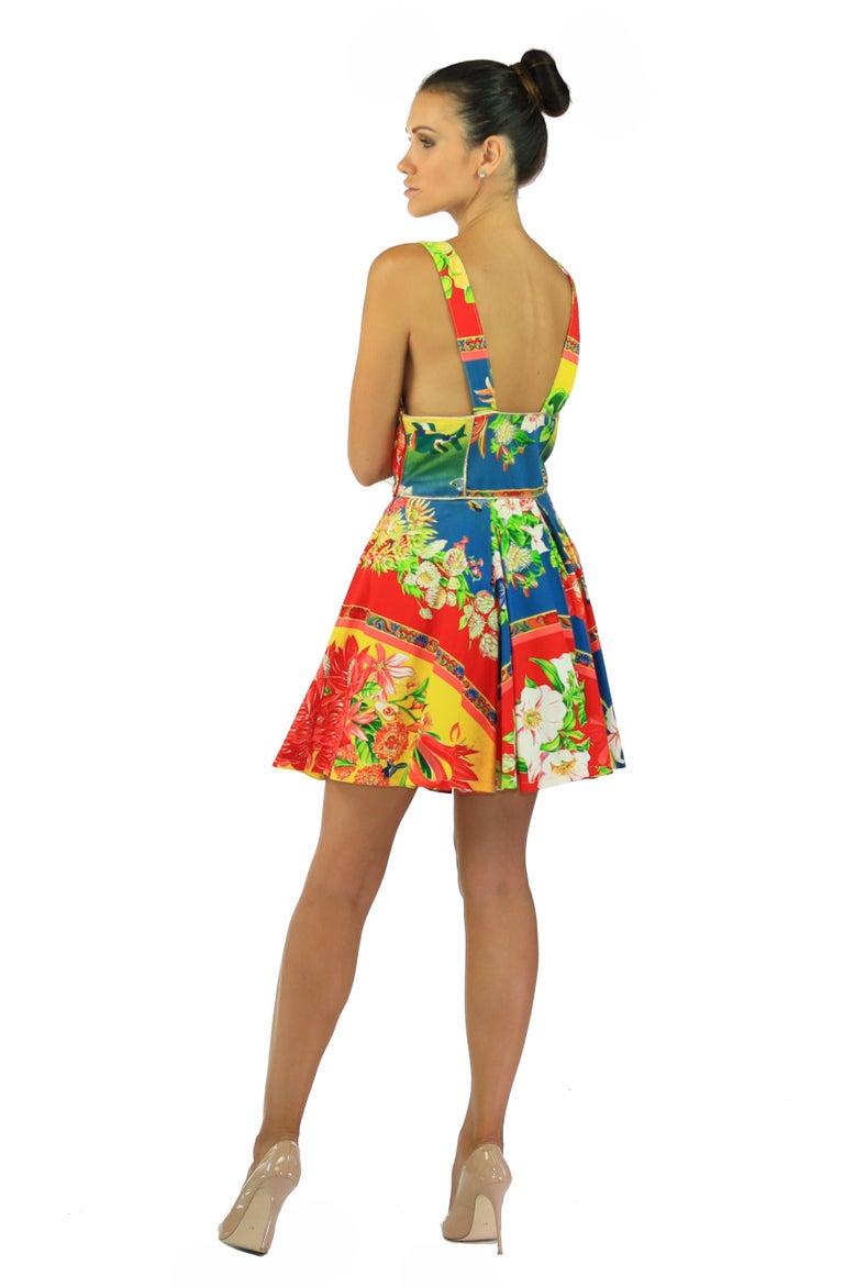 Women's s/s 1993 DOCUMENTED GIANNI VERSACE VERSUS DRESS For Sale