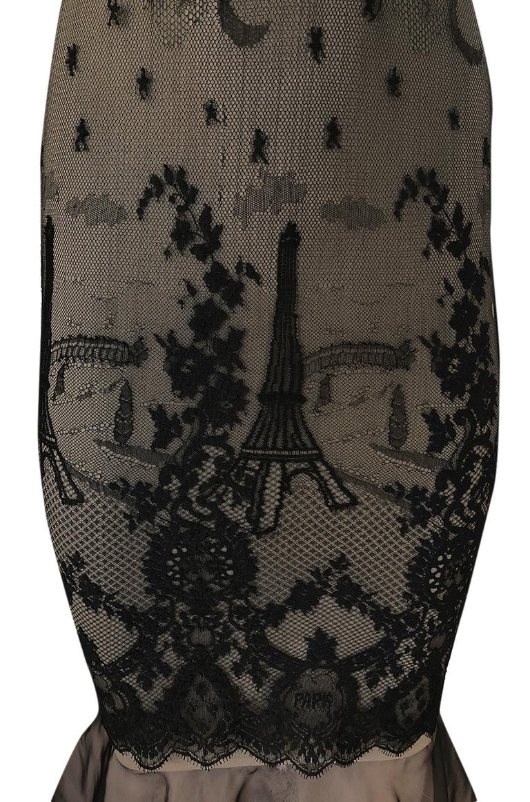 S/S 1995 Jean Paul Gaultier Fin de Siècle Collection Runway Paris Dress For Sale 7
