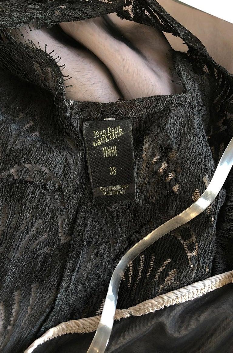 S/S 1995 Jean Paul Gaultier Fin de Siècle Collection Runway Paris Dress For Sale 8