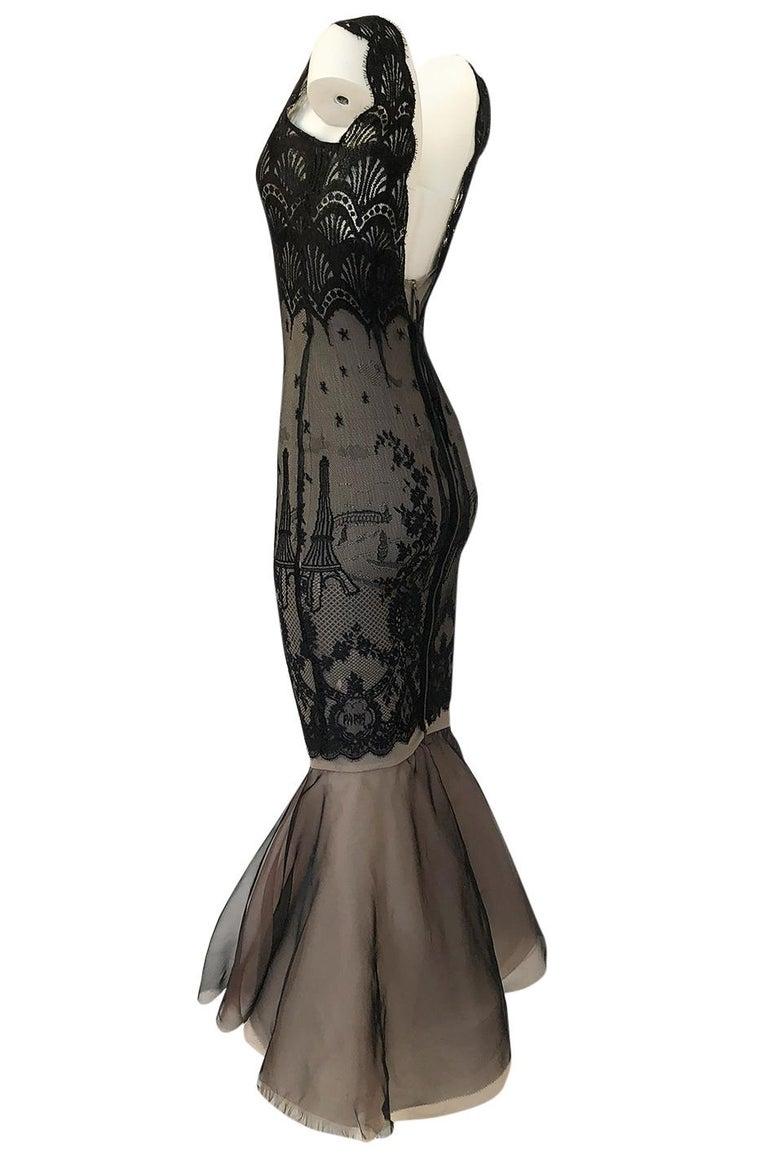 Women's S/S 1995 Jean Paul Gaultier Fin de Siècle Collection Runway Paris Dress For Sale