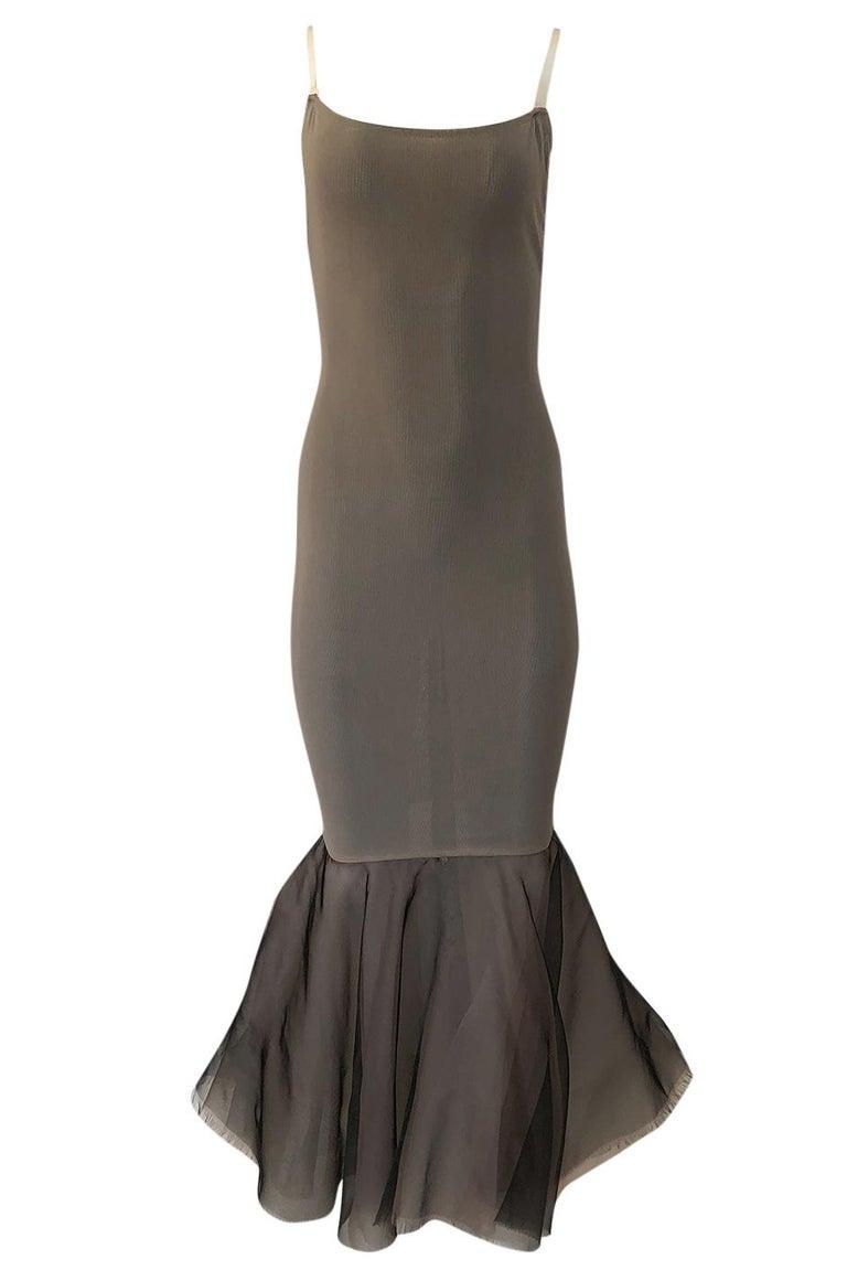 S/S 1995 Jean Paul Gaultier Fin de Siècle Collection Runway Paris Dress For Sale 1