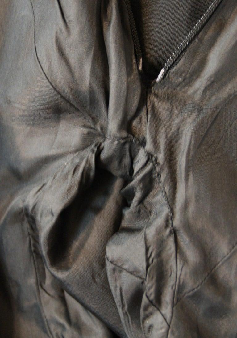 Women's S/S 1998 Alexander McQueen Savage Beauty Met Museum Mesh Tuxedo Mini Dress 40