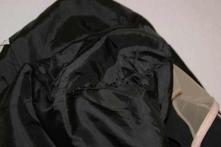 S/S 1998 Alexander McQueen Savage Beauty Met Museum Mesh Tuxedo Mini Dress 40 1