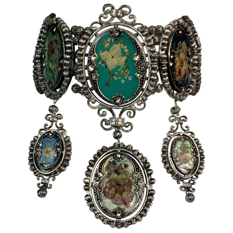 S/S 1998 Christian Dior John Galliano Extra Large Cameo Choker Necklace