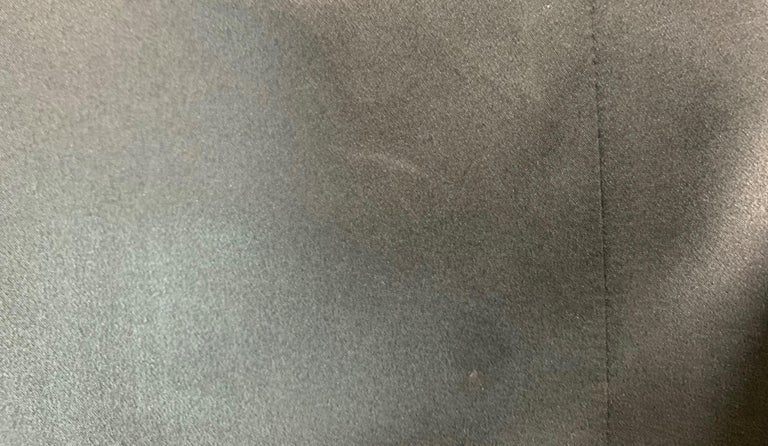 S/S 2001 Yves Saint Laurent by Tom Ford Black Bandage Wrap Hi-Low Mini Dress 36 For Sale 2