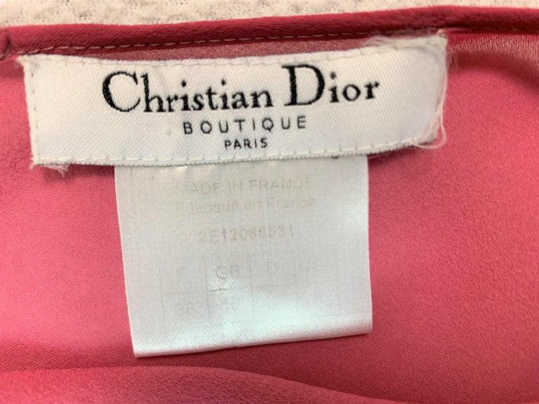 S/S 2002 Christian Dior John Galliano Runway Sheer Pink Hooded 2 Dresses 4