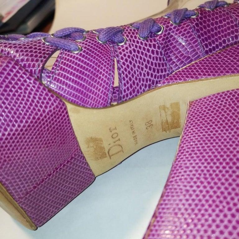 Women's SS 2007 Christian Dior John Galliano Haute Couture Runway Samurai Japanese Heels For Sale