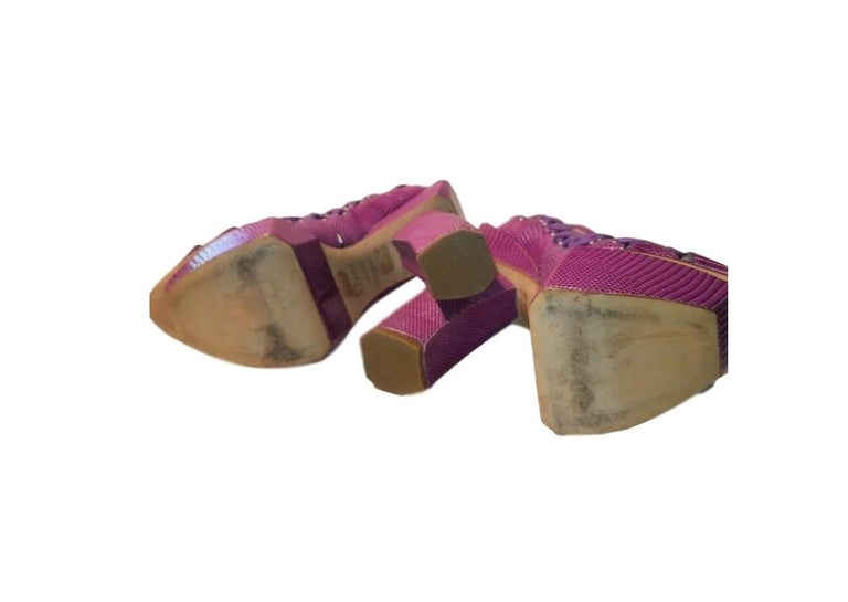 SS 2007 Christian Dior John Galliano Haute Couture Runway Samurai Japanese Heels For Sale 1
