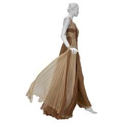 S/S 2006 Look #50 Versace Silk Gown