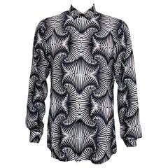 S/S 2011 LOOK #4 VERSACE Runway 100%  Silk Shirt