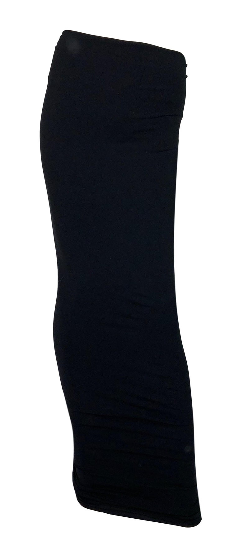 DESIGNER: S/S 2011 Yves Saint Laurent- can be worn as a dress or skirt  Please contact for more information and/or photos.  CONDITION: Good  COUNTRY MADE: Italy  FABRIC: Nylon  SIZE: M has a lot of stretch  MEASUREMENTS; provided as a courtesy only-
