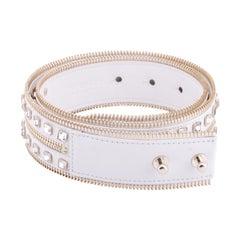 S/S 2012 Look #2 Versace Runway Crystal Embellished Belt