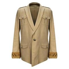 S/S 2013 Balmain military cotton blazer for men