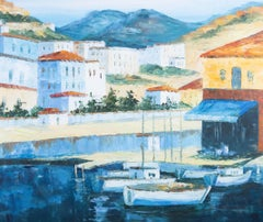 S. Wersky - Contemporary Oil, Mediterranean Harbour