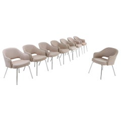 Saarinen Dining Chairs for Knoll, Set of Eight