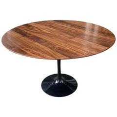 Saarinen for Knoll Solid Walnut Top Dining Table