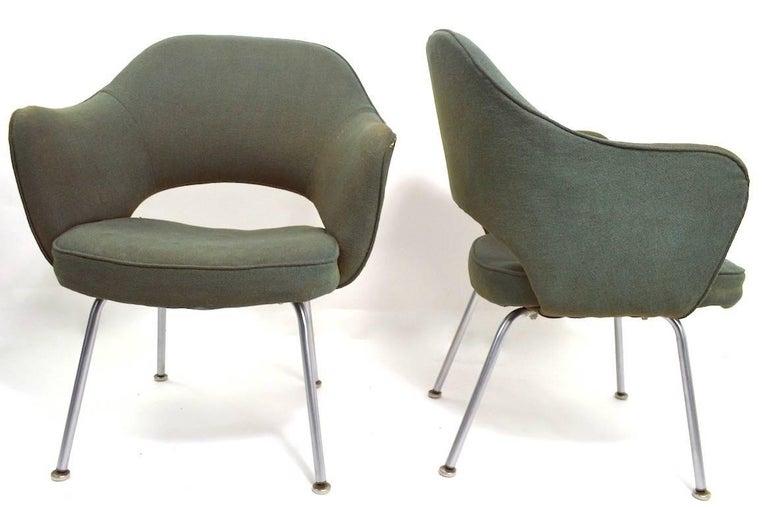 Mid-Century Modern Saarinen for Knoll Executive Chair For Sale
