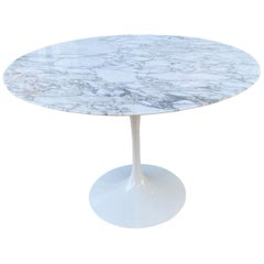 Saarinen for Knoll Marble Dining Table