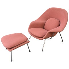 Saarinen for Knoll Womb Chair and Ottoman