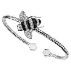 Sabbadini Baby Bee Laquer & Gold Bracelet