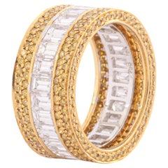 Sabbadini Exquisite Diamond Band Ring