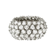 Sabbadini Flexible Diamond Band Ring