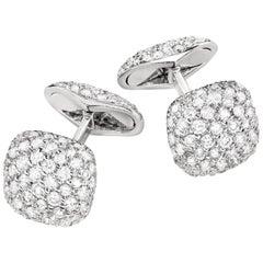 Sabbadini Jewelry Diamond Pavé Cufflinks