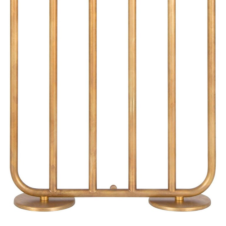Modern Sabina Grubbeson December 6-Arm Raw Brass by Konsthantverk Tyringe For Sale