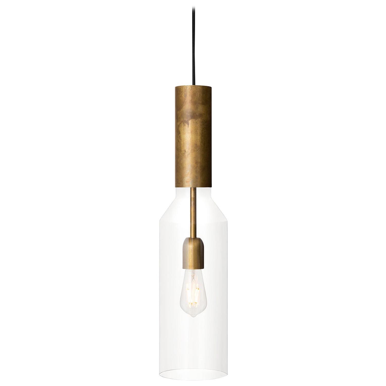 Sabina Grubbeson Fenomen Smal Brass Ceiling Lamp by Konsthantverk