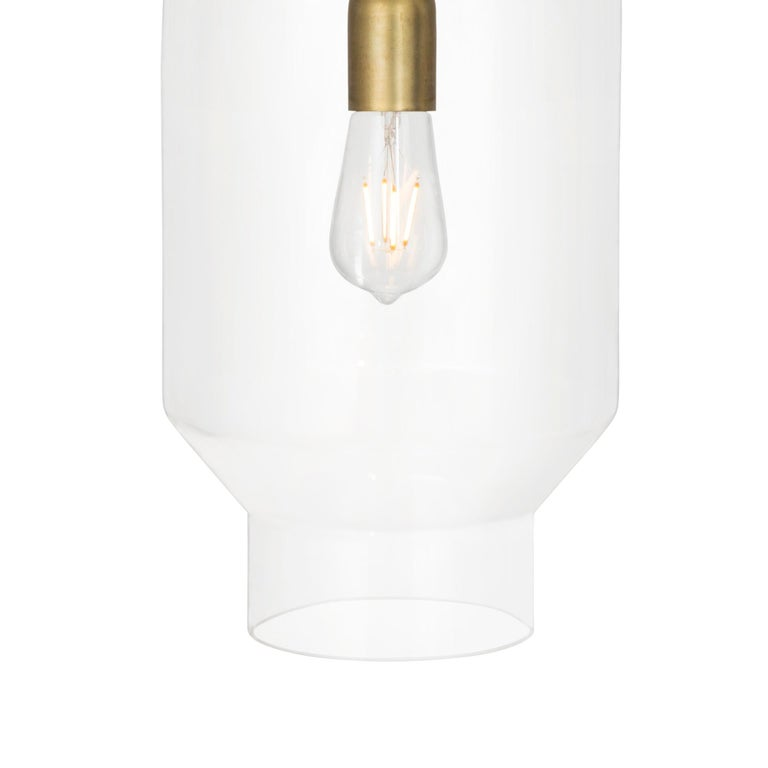 Ceiling lamp model Fenomen Stor designed by Sabina Grubbeson and manufactured by Konsthantverk.  The production of lamps, wall lights and floor lamps are manufactured using craftsman's techniques with the same materials and techniques as the first